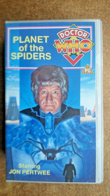 Doctor Who - Planet Of The Spiders (VHS, 1991, 2-Tape Set) - Jon Pertwee
